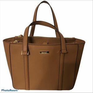 KATE SPADE brown briar Newbury tote bag